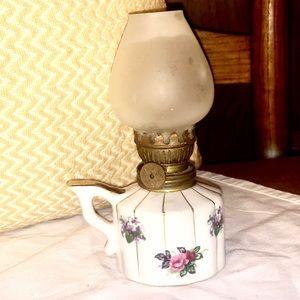 Vintage Napco oil lamps